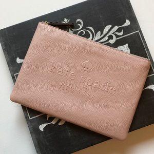 KS Gia ash street leather pouch
